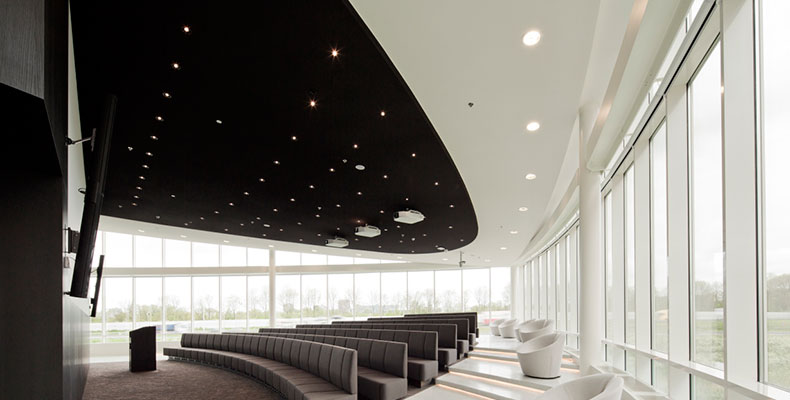 OWAplan naadloos akoestisch plafond