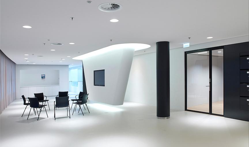 OWAplan akoestisch naadloos monolithisch plafond