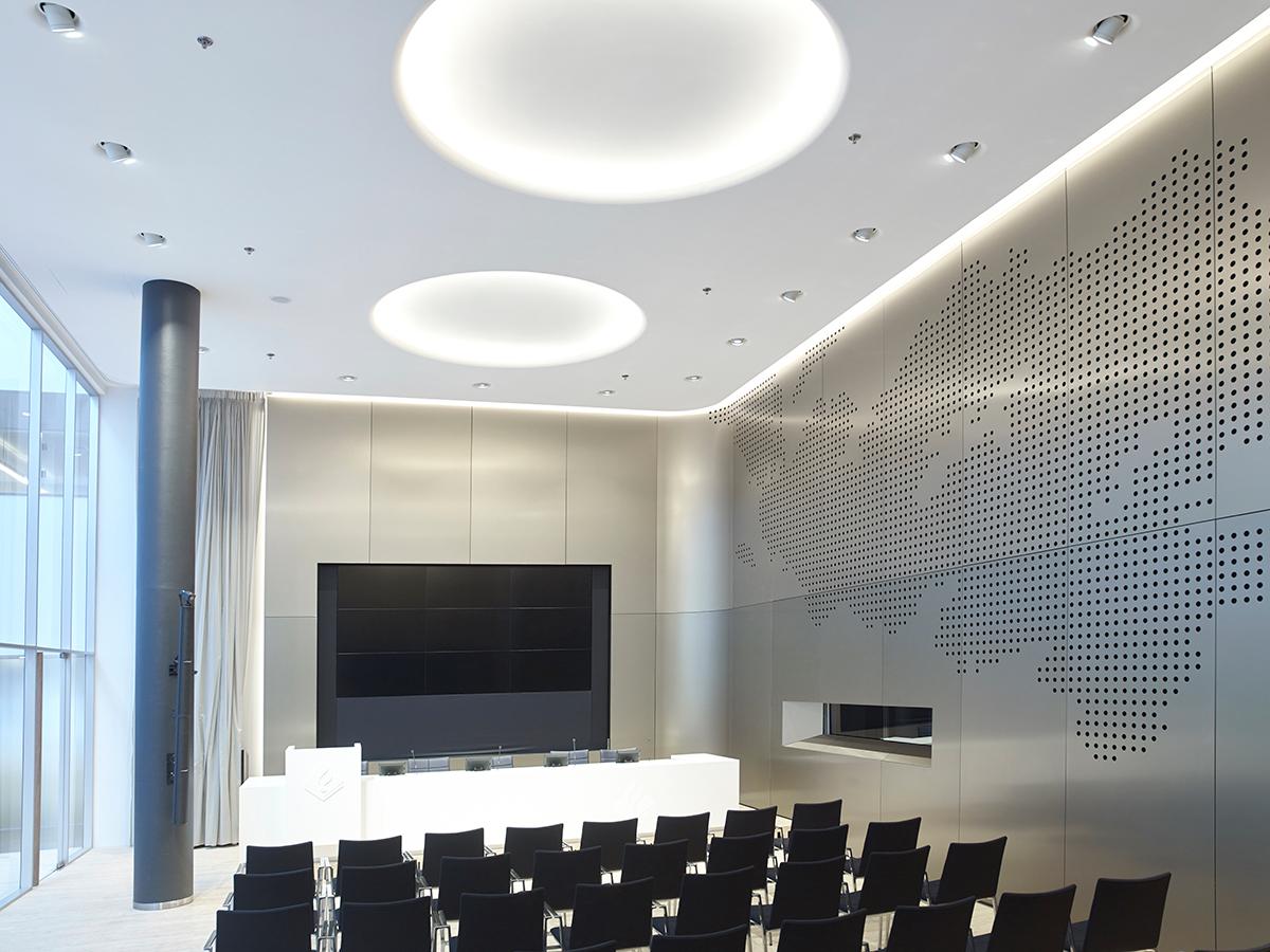 OWAplan akoestisch reflecterend kantoren