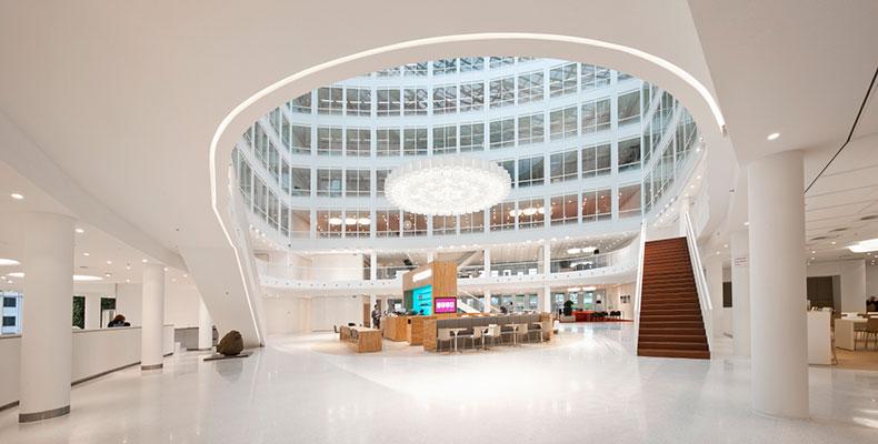OWAplan Eneco Rotterdam Lobby