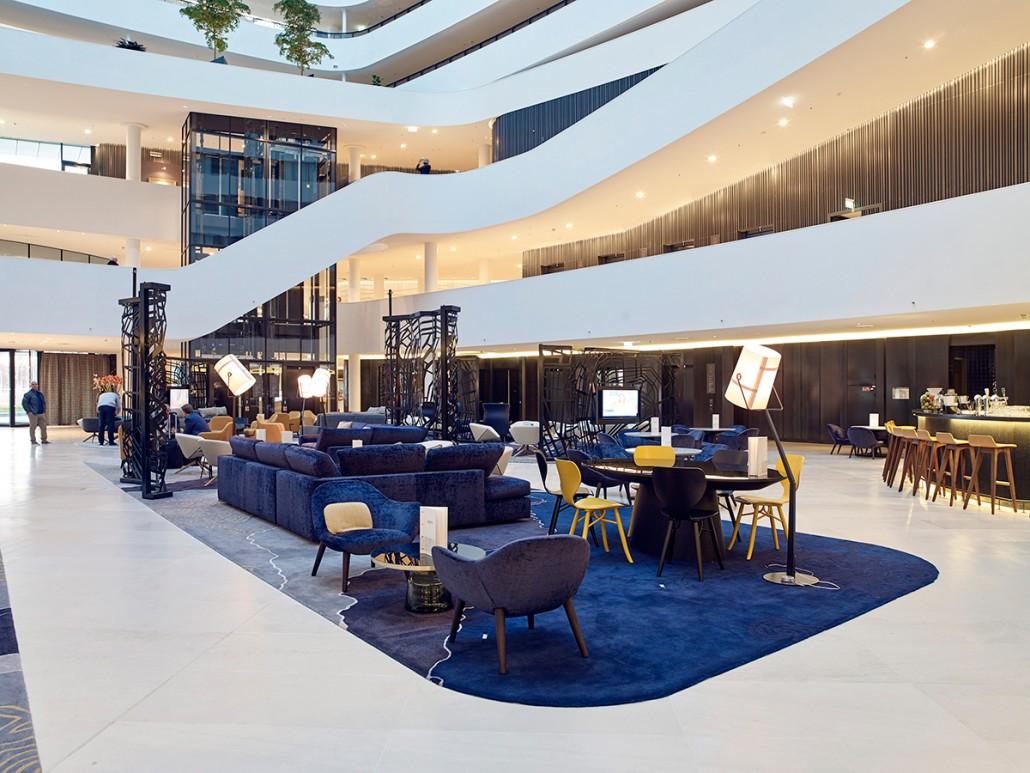 Hilton Amsterdam Airport Mecanoo