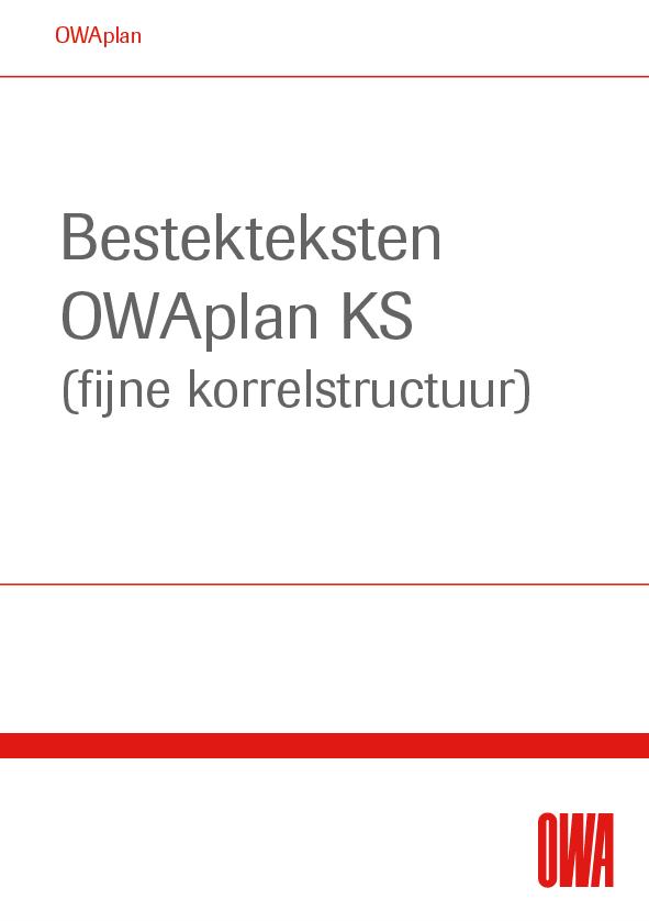 Bestekteksten OWAplan KS